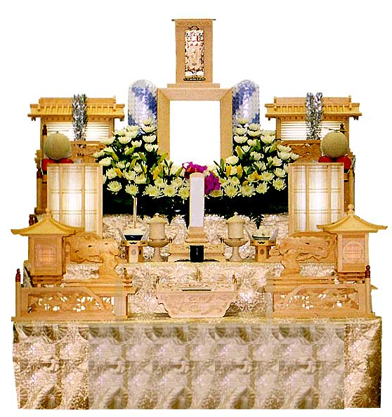 白木祭壇1号