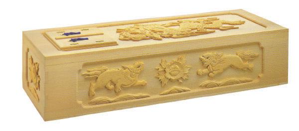樅平5面彫刻棺